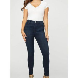 Guess Simmone High-Rise Skinny rinse wash Jeans 24